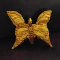 Woodworking art - Angel Butterfly - by Gail Cavalier