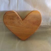 Woodworking art - medium heart