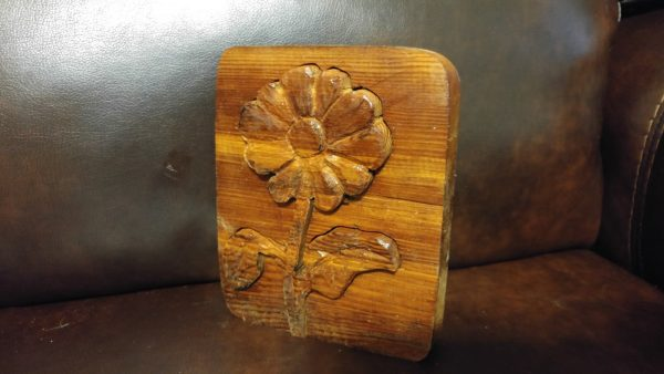 Woodworking art - Popout Flower - by Gail Cavalier