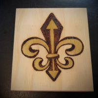 Fleur De Lis with Arrows