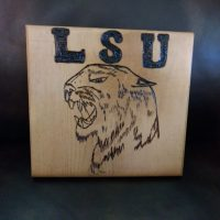 LSU Tiger fierce